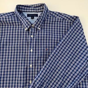 Tommy Hilfiger Men's Long Sleeve Shirt (XXL)